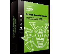 Dr.Web Security Space 12 срок лицензии 24 месяцев
