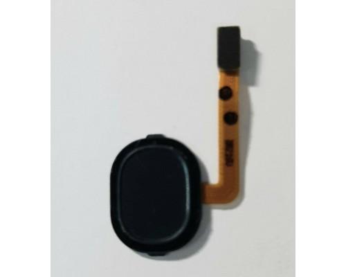 Датчик отпечатка пальца Samsung A30 (A305F) черный
