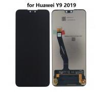Дисплейный модуль для телефона Huawei Y9 2019 черный