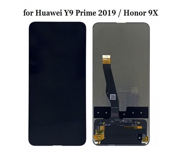 Дисплейный модуль для телефона Huawei P Smart Z/Y9 Prime 2019/Honor 9X/STK-LX1/STK-L21 черный