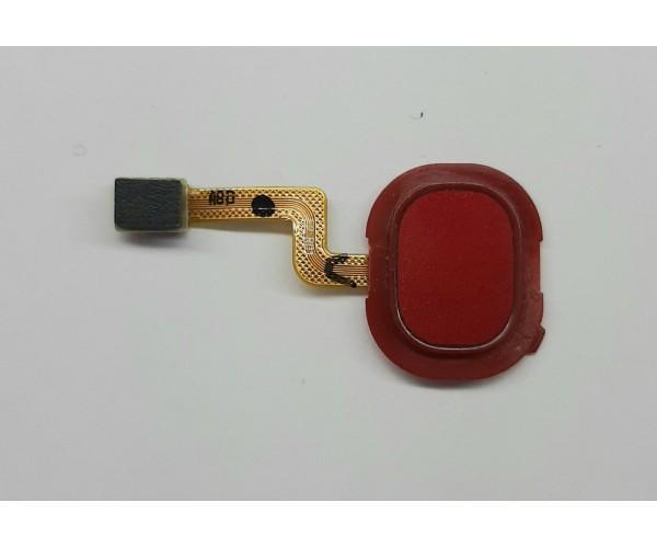 Датчик отпечатка пальца Samsung A21S (A217F) красный