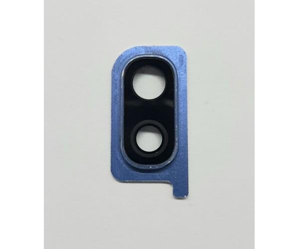 Стекло камеры Samsung A30 (A305) синий