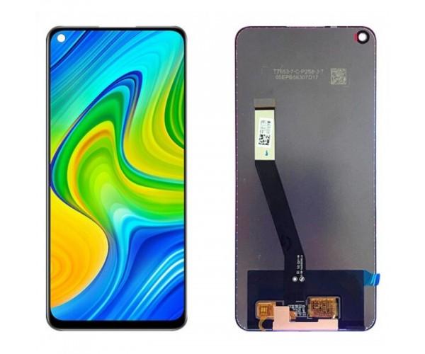 Дисплейный модуль для телефона Xiaomi RedMi Note 9 черный