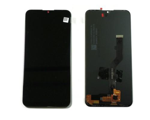 Дисплейный модуль для телефона  ZTE Blade V10 Vita/A1 Alpha черный