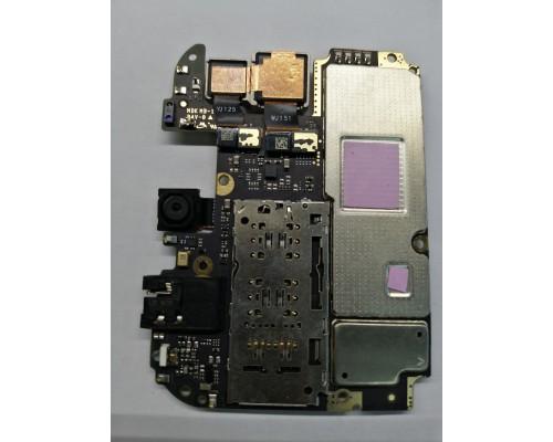Xiaomi redmi note 5A основная плата с камерами.
