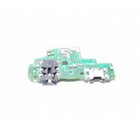 Нижняя плата Huawei P Smart (FIG-LX1) c разъемом зарядки, гарнитуры (наушников)