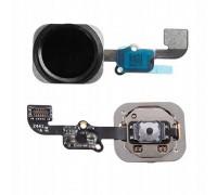 Кнопка, шлейф Home 6S, 6SP Black.