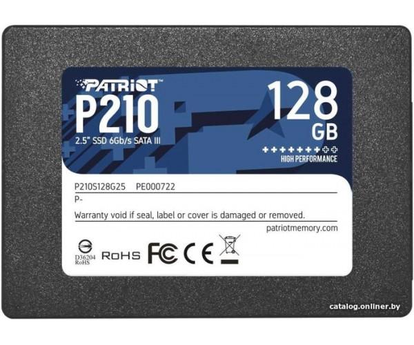"Жесткий диск SSD Patriot 128Gb P210 [P210S128G25] 2,5"" SATA III"